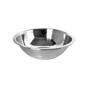 BOWL ECONÓMICO 800 ML, ACERO INOXIDABLE