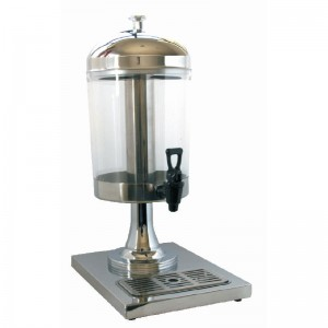 DISPENSADOR DE JUGOS 8 LITROS, ACERO INOXIDABLE